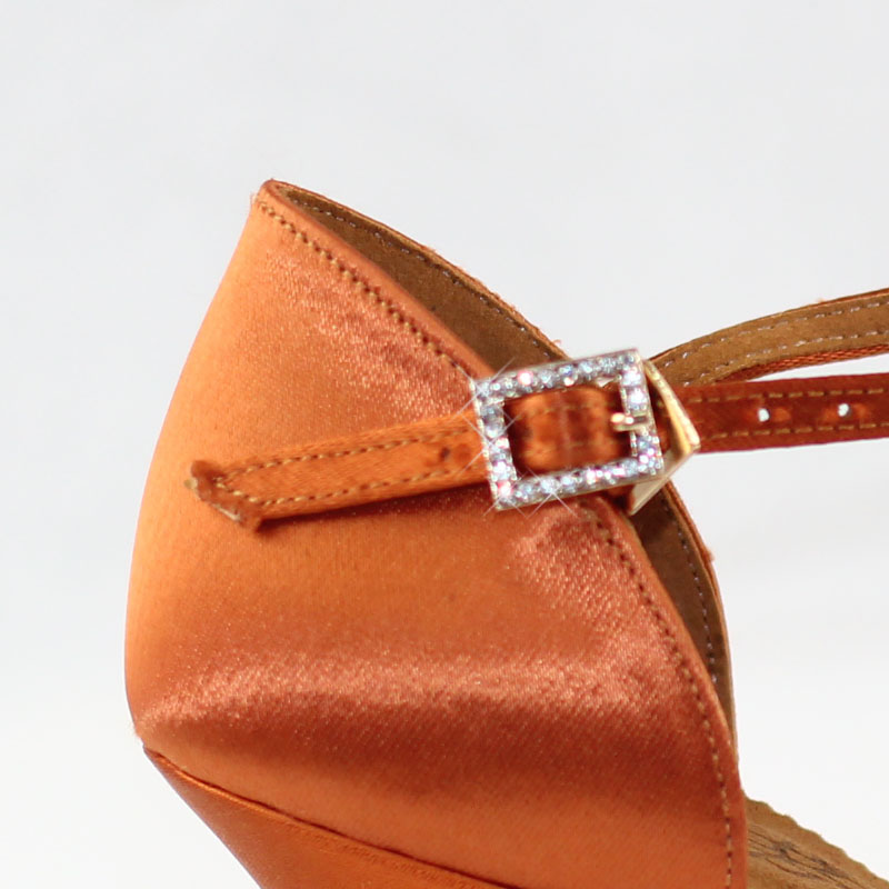Hot Sale Wanita Sepatu Dansa Latin BD 2358 Satin Sandal Wanita Sepatu - Sepatu kets - Foto 6