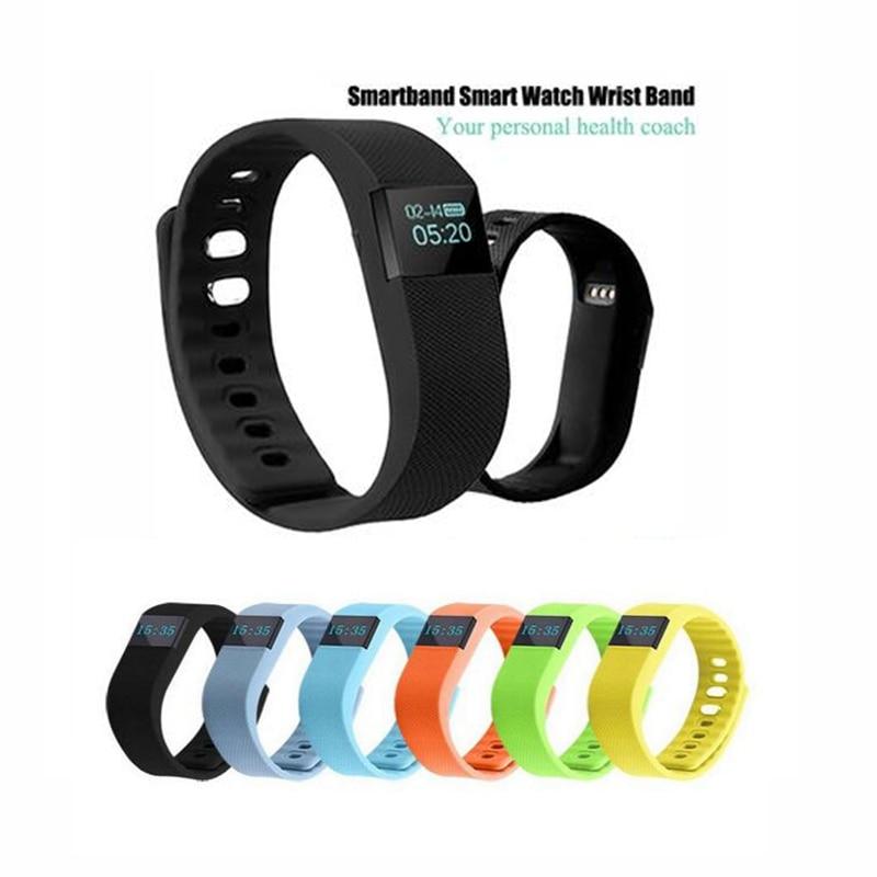 bilder für ID100 Smartband Aktivität Armband Schrittzähler Smart Band Pulsmesser Armband Sport Fitness Tracker Für Telefon