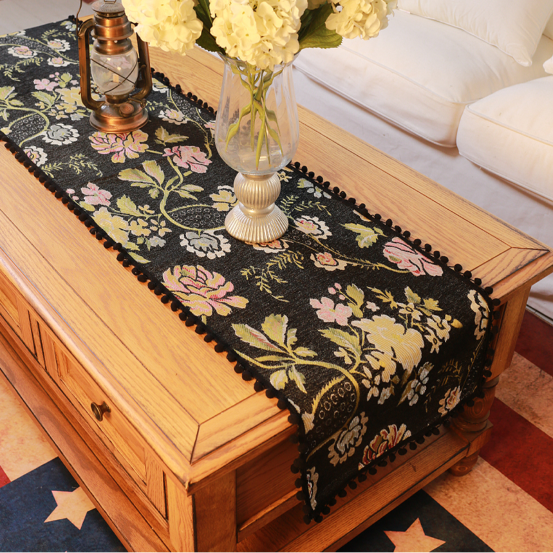 Aliexpress.com : Buy DUNXDECO Table Runner Heavy Jacquard