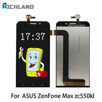 A LCD Screen For Asus Zenfone Max ZC550KL Z010D Full LCD Display Touch Screen Digitizer Assembly