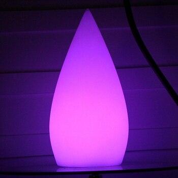 D16 * H34cm lumineux RGB led çok renkli led masa lambaları su geçirmez IP68 led ışık kaynağı masa lamba ışığı ücretsiz kargo 4 adet/grup