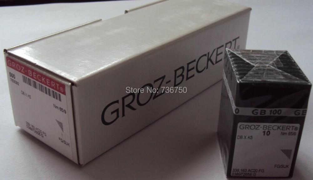 100% originale Groz Beckert ago da ricamo DBXK5 Nm 65/9 60/8 Tajima Barudan SWF ZSK Cina macchina da ricamo parti di ricambio-in Accessori e strumenti da cucito da Casa e giardino su  Gruppo 1