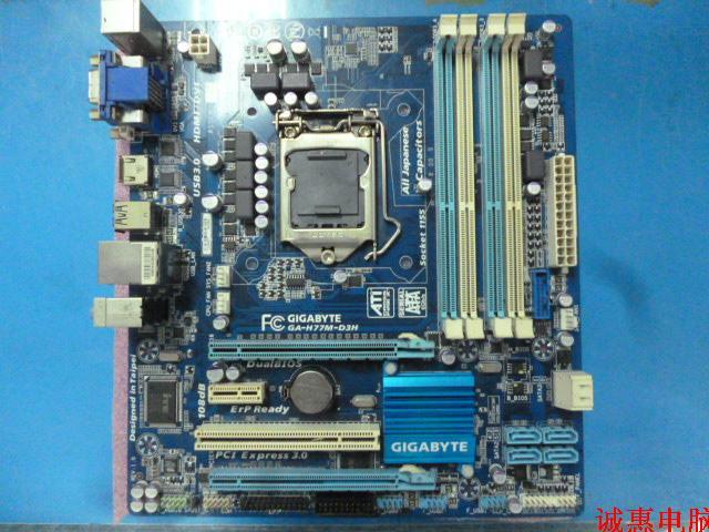 все цены на 1155 pin H77  GA-H77M-D3H Deluxe board supports USB3 SATA3 онлайн