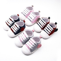New Canvas Babys Sneaker Sport Shoes For girl boy Newborn Shoes Babys Walker Infant Toddler Soft Bottom Anti slip First Walkers