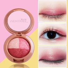 Long-lasting Waterproof Matte Shimmer Palette Matte And Glitter Eyeshadow Conturing Make Up Palette Pigment Eye Shadow D
