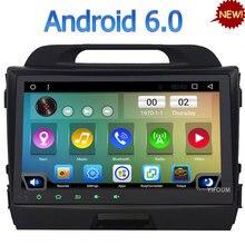 3G 4G WIFI Android 6.0 9″ Quad-Core DAB RDS USB Car DVD Multimedia Player Radio For Kia Sportage R 2010 2011 2012 2013 2014 2015