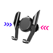 Car Gravity Phone Holder 360 Rotation Phone Air Vent Car Mount Holder For 4.7 To 7.5 In Cell Phone No Magnetic No Suction Cup стоимость