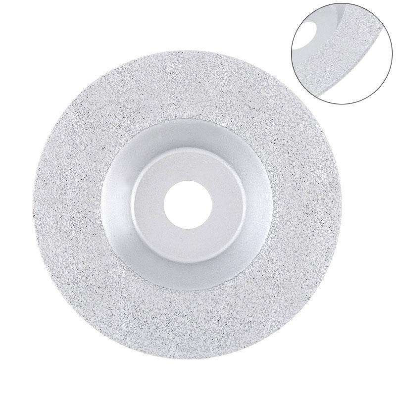 Diamond Grinding Wheel 100mm Bowl-Shaped  Grinding Wheel Glass Cutting Blade Saw Blade Rotary Grinding Tool