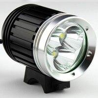 4000 Lumen 3x XM-T6 LED Koplamp 3T6 Koplamp Fiets Light Waterdicht + Batterij