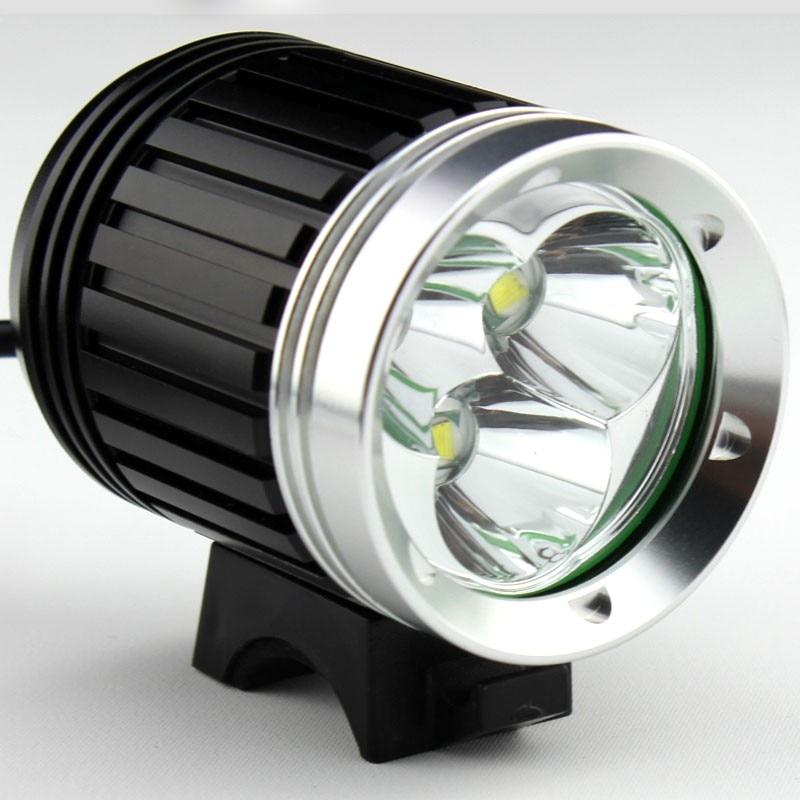 4000 Lumens 3x  XM-L T6 LED Headlight 3T6 Headlamp Bicycle Bike Light Waterproof + Battery Pack