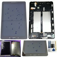 Shyueda Orig For Samsung Galaxy Tab A 10.1(2016) P580 P585 SM-P580 SM-P585 1200 x 1920 LCD Display Touch Screen Digitizer(China)