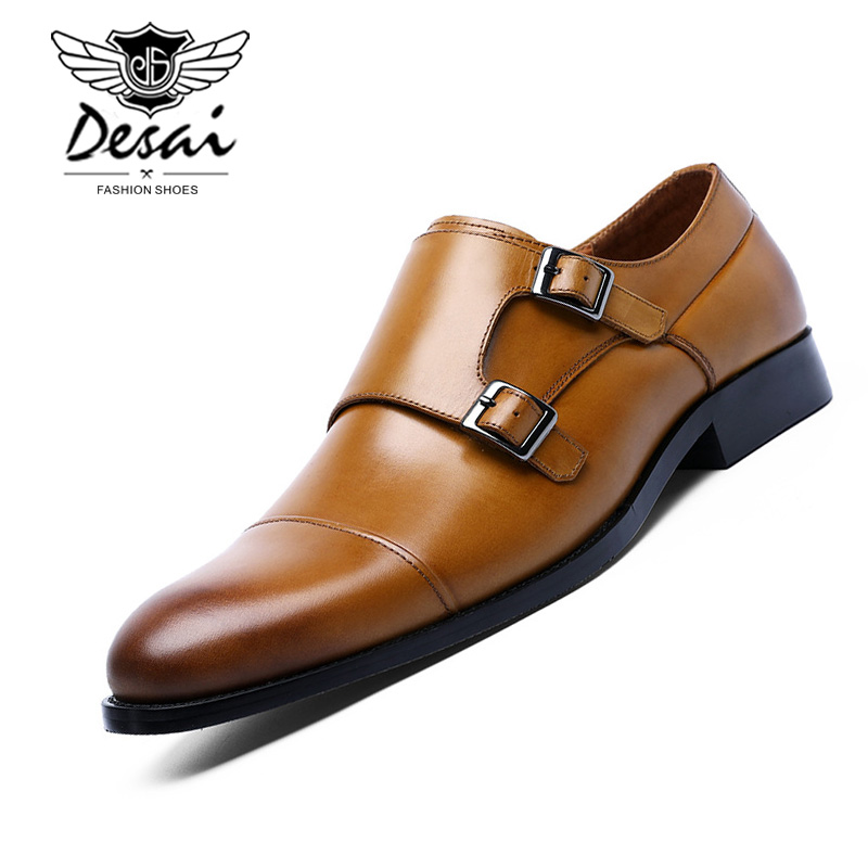 Natural Leather Oxfords Shoes For Men Summer Dress Shoes Plus Size Business Shoes Mesh Wedding Shoe Men Men's Shoes Shoes