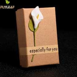 Креативная шкатулка ретро Крафтовая Ювелирная коробка картонные подарочные коробки