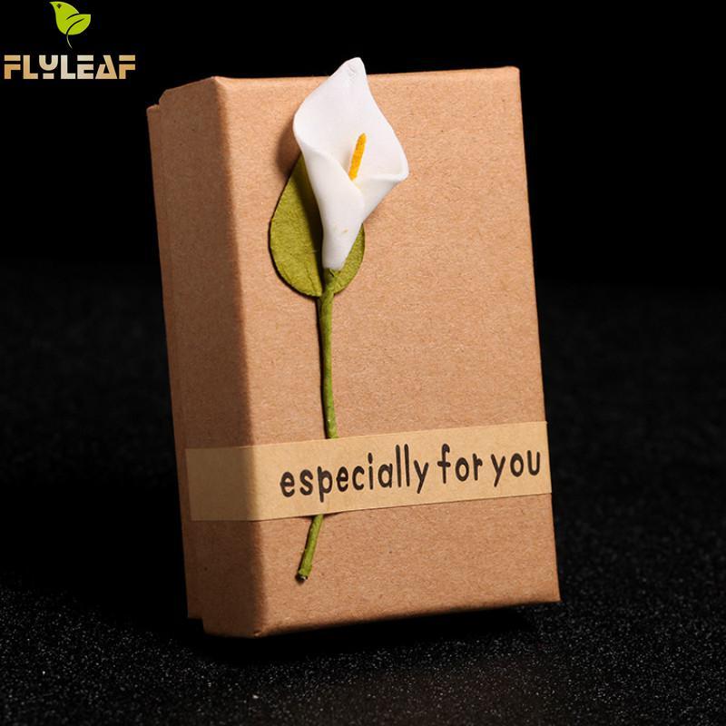 Caixa de Jóias Caixa de Jóias criativa Retro Kraft Caixas de Papelão De Presente