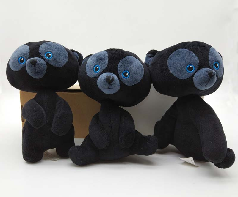 BRAVE BEAR CUB TRIPLETS PLUSH HARRIS HUBERT & HAMISH Gifts 3pcs