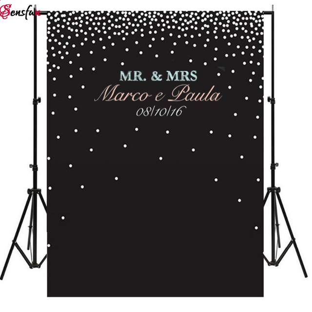 Custom Blackboard Diy Photocall Wedding Background Idea Chalkboard
