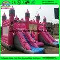 Новый Дизайн надувные прыжки замок, надувной замок упругий, надувные вышибала с двойной слайд