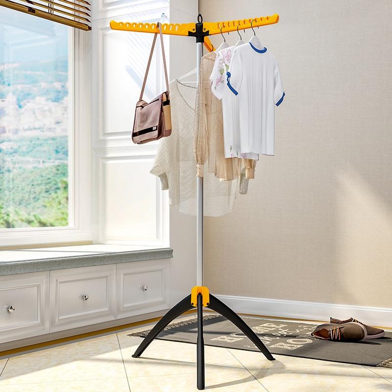 купить Baby Drying Rack Landing Folding Hangers Children's Towel Diaper Holder Balcony Coat Rack Clothes Stand Wardrobe Home Furniture по цене 1674.78 рублей