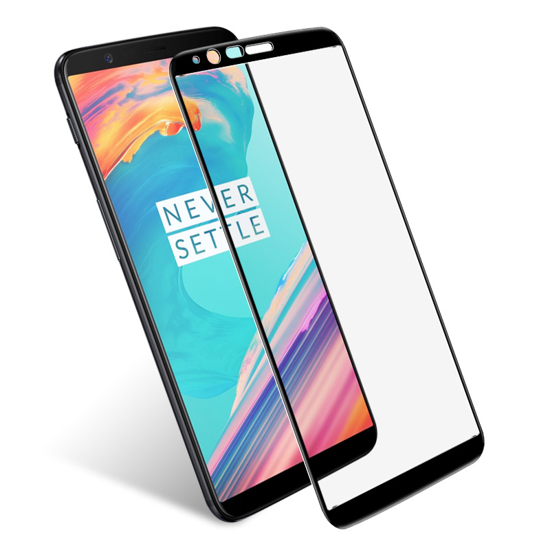 Oneplus 5T Tempered Glass Oneplus 5T Glass IMAK Full Covered Screen Protector For One Plus 5T
