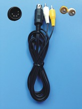 Audio Video AV Cable Cord Sega Genesis I 1 One