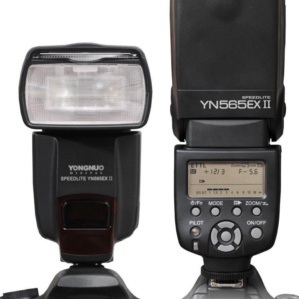 YONGNUO TTL Flash Speedlite YN-565EXII YN565EX II Flash pour Canon 6D 7D 70D 60D 600D 650D 5 DIII 50D 500D 550D 1000D 1100D