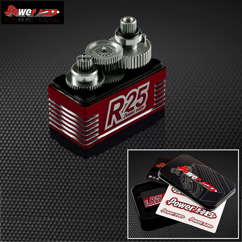 1 шт. Мощность HD R25 высокое Напряжение 20 кг 0,11 S высоком Скорость металла Шестерни высокое Напряжение Servo