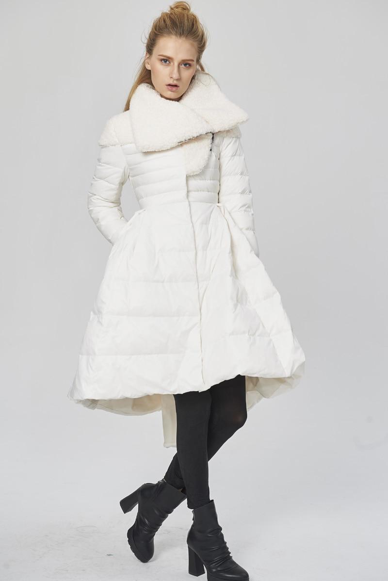 Chaqueta Abajo Creativo Black Parkas Blanco camouflage Gran Diseño De Europa white Nueva Abrigo Marca Más Camuflaje W1234 2018 Pato Moda 90 Oscilación Grueso SqzUxOAR