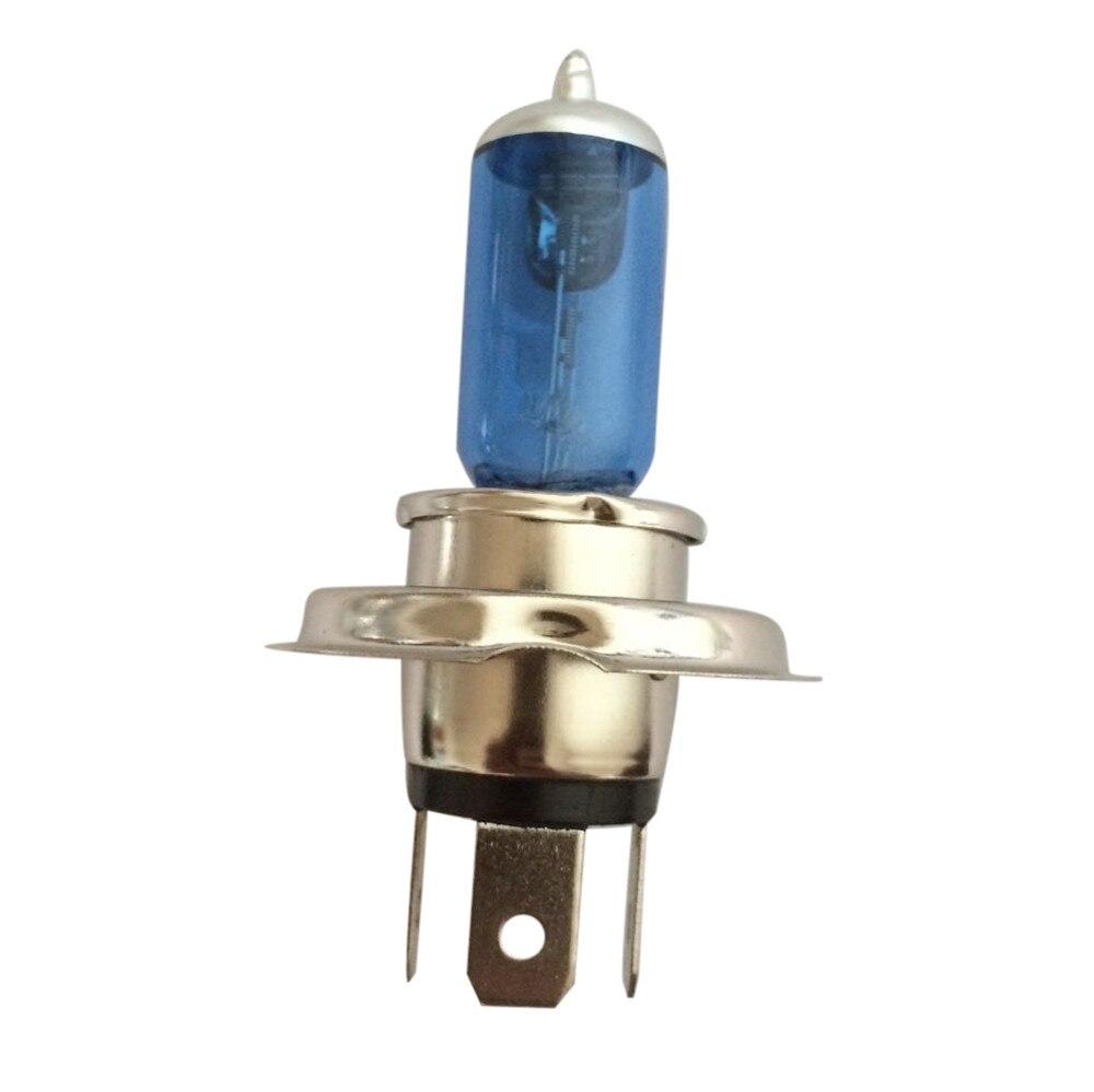 H4 XENON HEADLIGHT BLUE BULBS MAZDA 121 2 2000 DEMIO