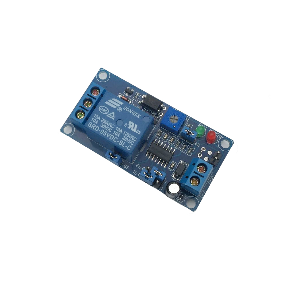 10PC Delay Relay Delay Turn on Delay Turn off Switch Module with Timer DC 5V