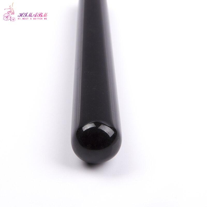100% Natural obsidian massage stick beauty massage wands for body massage yoni wand