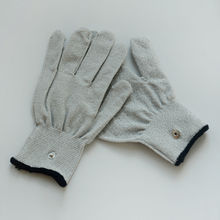 200 Pairs Slivery Fiber Conductive Massage Gloves Use For TENS/EMS Machines