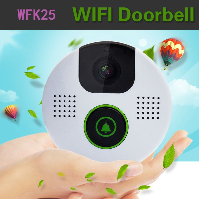 AlyBell smartphone app intelligent 1.0 mega pixel wifi video door intercoms camera