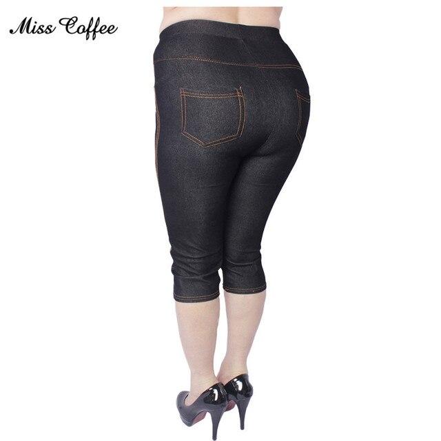 2018 Nieuwe vrouwen Kleding Grote Maat Toename Vet Leggings Snoep Gekleurde Potlood Broek Hoge Kwaliteit Hoge Stretch Imitatie Jeans