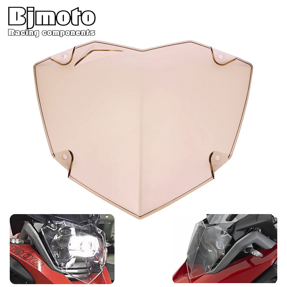Bjmoto For BMW R1200GS WC 2013-2017 R1200GS ADV WC 2014-2017 motorcycle motorcross Headlight headlamp Cover Guard Protector 2017 hot motorcycle accessories grille radiator cover protection cnc aluminum for bmw r1200gs r1200 gs adv 2013 2014 2015 2016