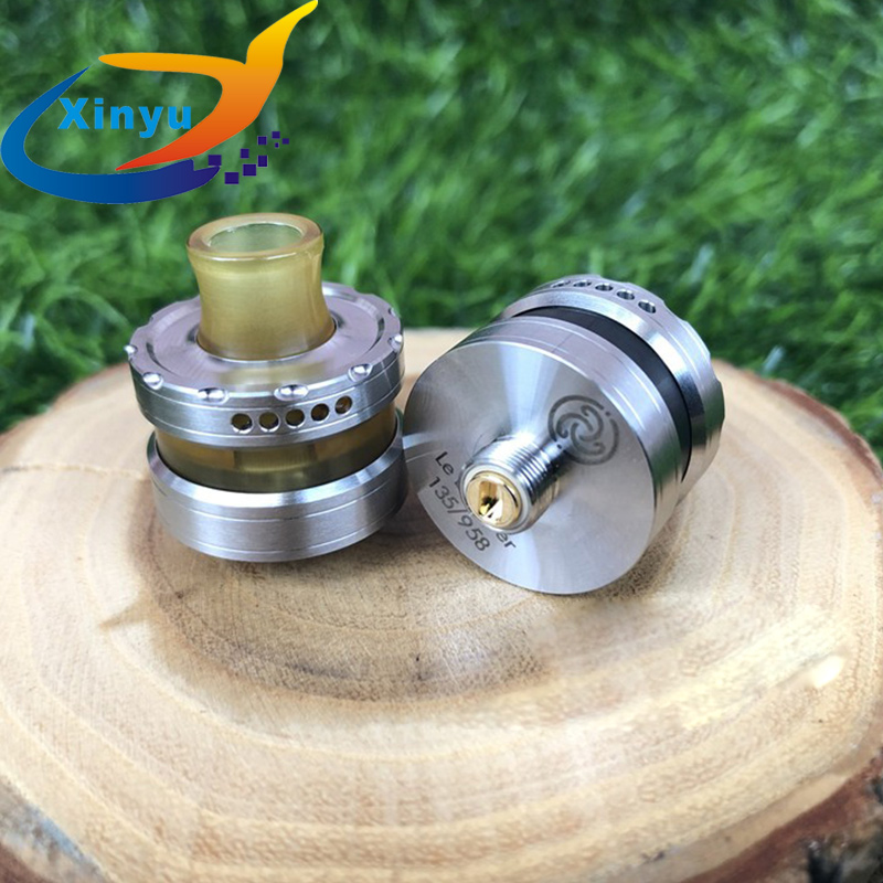 Le Dripper Rda Rta By La Box Française 22mm 316 Stainless Steel Airflow Control Rebuildable Dripper RTA VS Varw MTL RTA