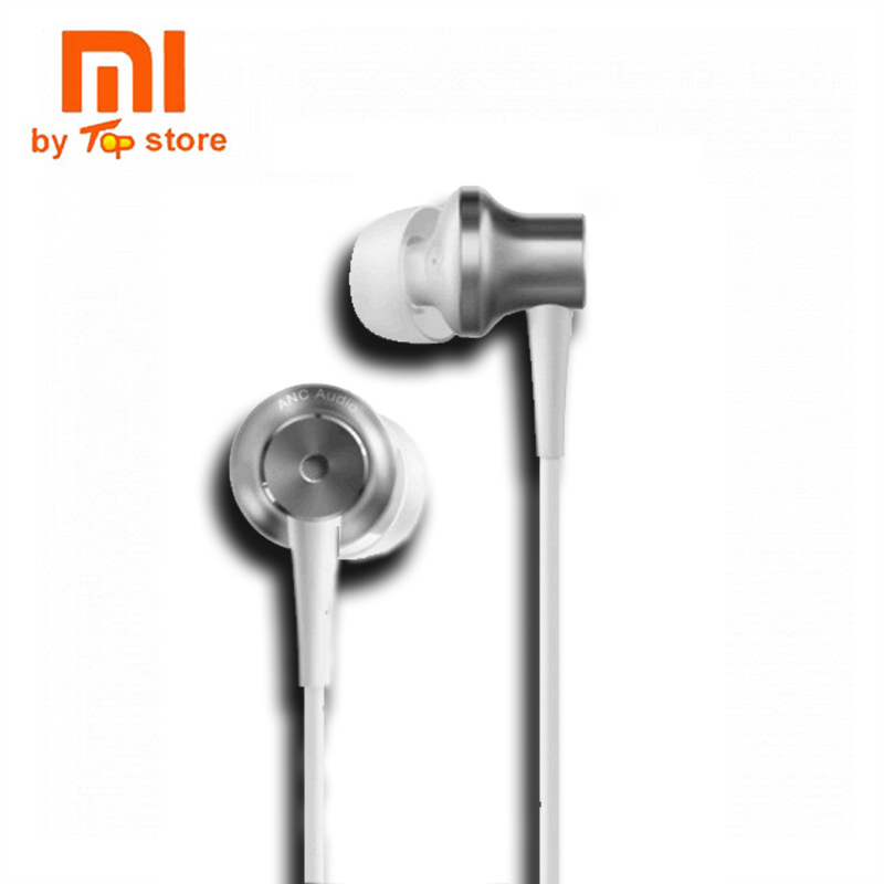 Newest Original Xiaomi Type-C Earphone Noise Cancelling Earphones Wired Control With MIC For Smartphone Hybrid HD Volume Contr remax rm502 wired clear stereo earphones with hd microphone angle in ear earphone noise isolating earhuds for mp3 iphone xiaomi