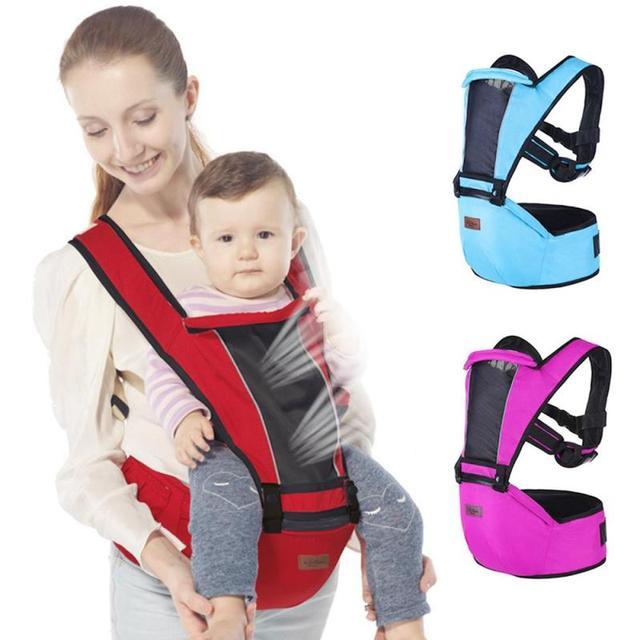 Multifonction Bébé Sac À Dos Enfant Transportant Fronde pour les  nouveau-nés Ergonomique kangourou hipseat a7e9e008a9e