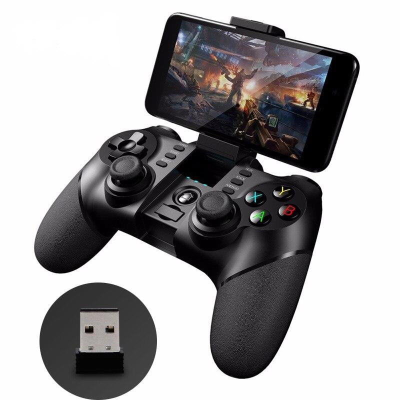 IPEGA Gamepad 9076 Bluetooth Sans Fil 2.4g Sans Fil Joypad Joystick Android Téléphone Intelligent Lecteur de Jeu Contrôleur Mobile Jeu PC