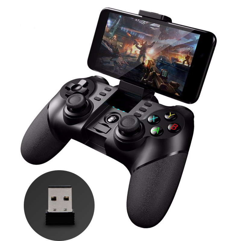 IPEGA Gamepad 9076 Bluetooth Wireless 2.4G Wireless Joypad Joystick Android Smart Phone Gaming Player Controller Mobile Game PC
