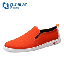 GUDERIAN Brand Summer Casual Shoes Men Breathable Canvas Sneakers Loafers Lightweight Driving Espadrilles