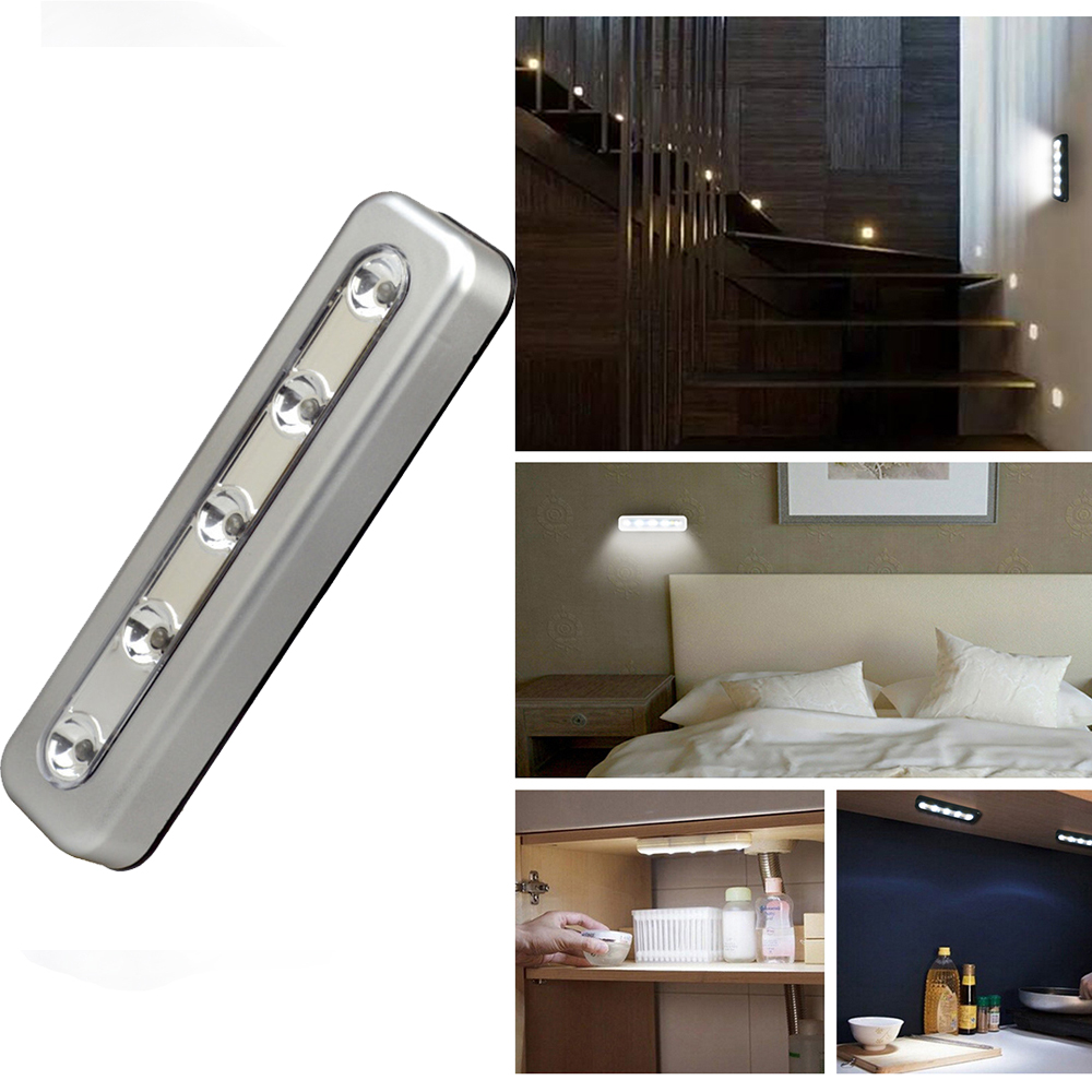 Us 4 23 15 Off Cabinet Light 5 Leds Home Emergency Wall For Bedroom Kitchen Inside The Car Closet Wardrobe Lighting In Under