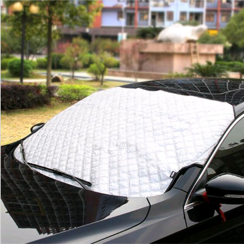 car Window Sunshade Car Snow Covers for Volkswagen VW Polo Passat B5 B6 CC GOLF 4 5 6 Touran Bora Tiguan Peugeot 307 accessories