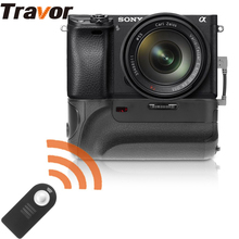 Travor New Arrival Battery Grip with IR Function for Sony Alpha A6300 Camera