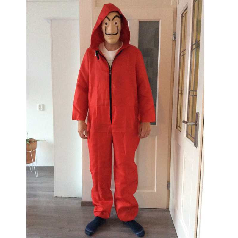 Cosplay Money Heist The House of Paper La Casa De Papel  Salvador Dali halloween costumes men adult Carnival kids children boys