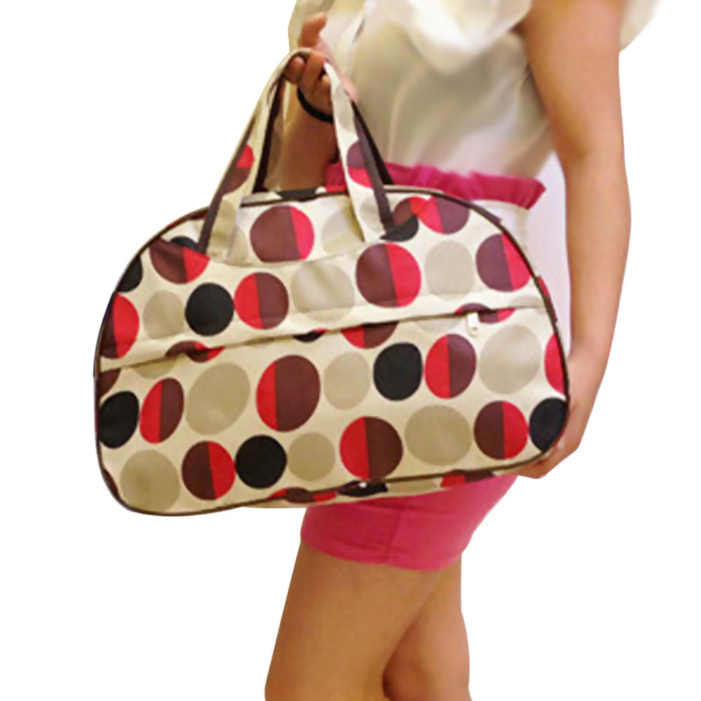 Women Bag Luggage-Bags Canvas Oxford Hand Large Colorful Waterproof Hot-Fashion Petals