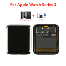 38mm 42mm touch screen digitizer glass lens panel for apple watch series 2 series 3 38mm 42mm touchscreen repiar parts 1 Pcs Original For Apple Watch Series 3 LCD Display Touch Screen Digitizer Series3 38mm/42mm Replacement+Tools +Tempered Glass