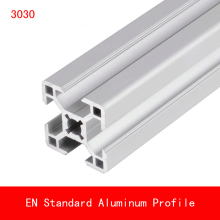 купить 500mm 3030 Aluminium Profile EN Standard Brackets DIY Bracket Table Holder AL Aluminum Shape CNC 3D Printer Parts Slot Rail дешево