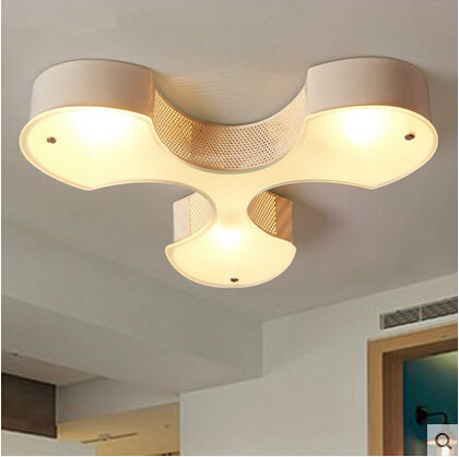 Acrylic Modern Led Ceiling Light E27 3 Indoor Lightings Fixtures For Home Living Hallway Lamparas