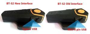 Image 3 - Impermeabile BT S2 Multi BT Interphone 1000M Bluetooth Del Casco del Motociclo Citofono Intercomunicador Moto Interfones Auricolare FM MP3
