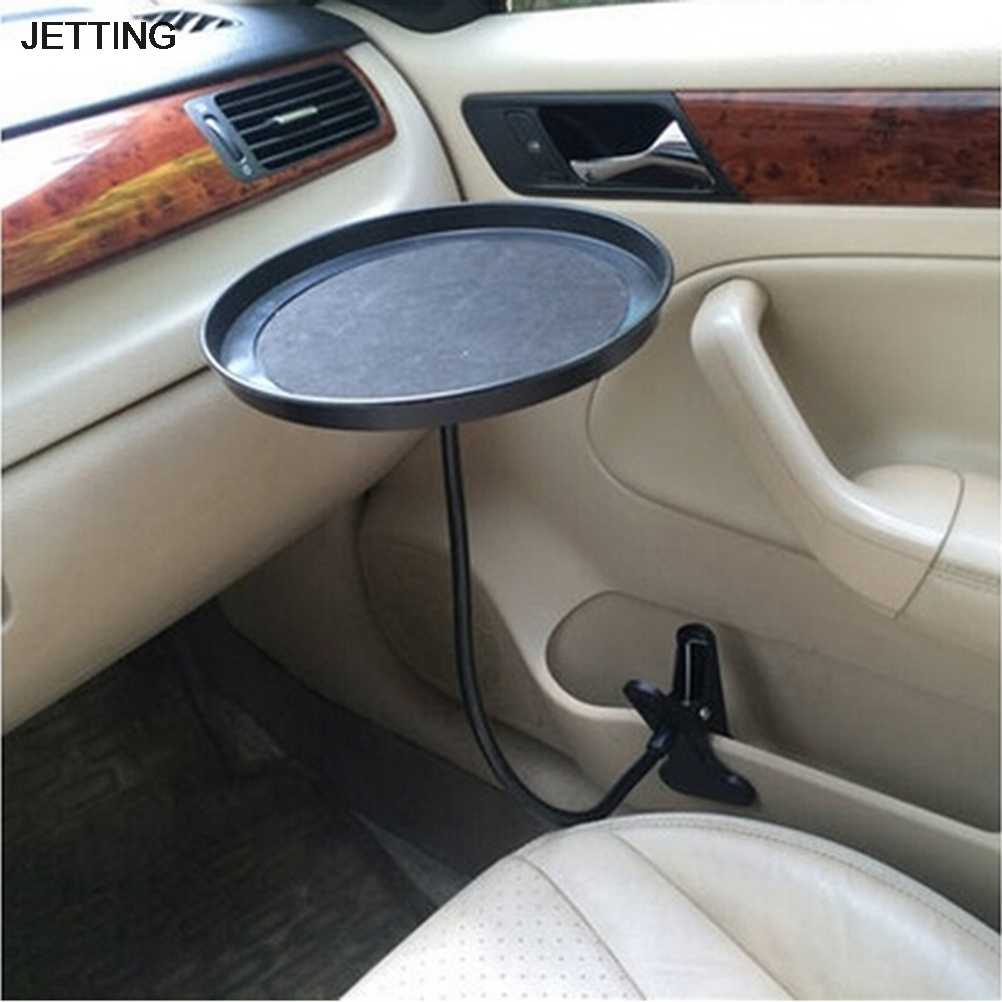 Black Car Food Tray Folding Dining Table Drink Holder Car Pallet Back Seat Water Car Cup Holder
